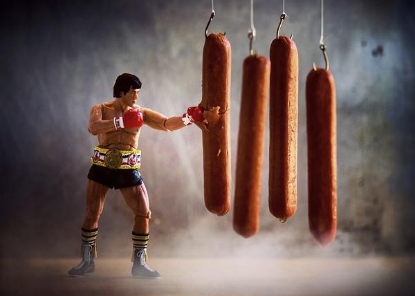 Rocky's Forgotten Meat Locker Scene