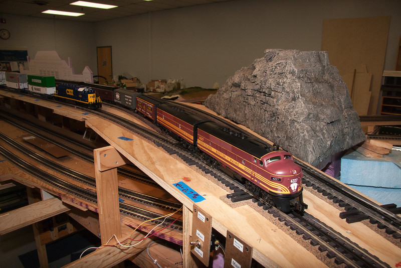 This area of the layout will eventually be a stylized version of the depot at Troy, NY.