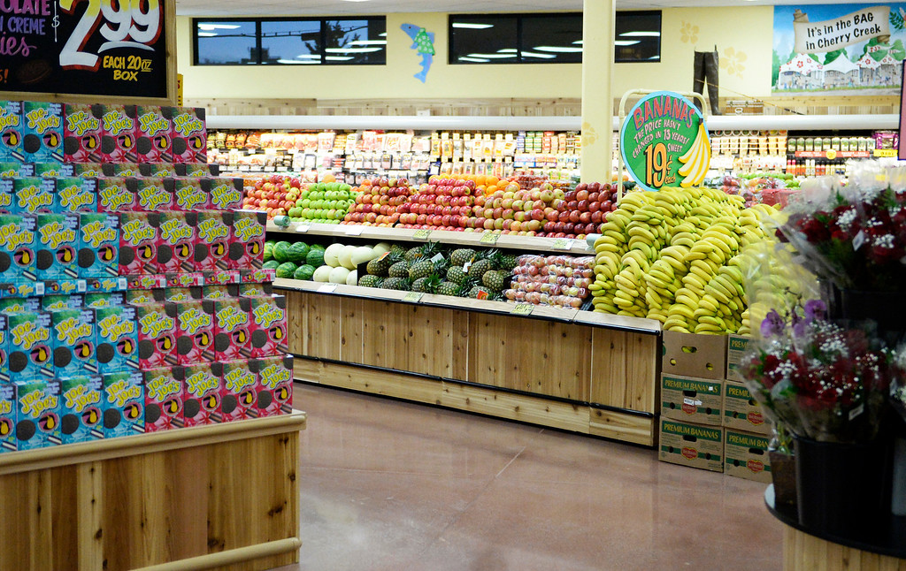 . DENVER, CO - FEBRUARY 14: Trader Joe\'s, located on Colorado Blvd. and East 8th Avenue in Denver, is ready for its grand opening, February, 14 2014. Two other Trader Joe\'s locations in Colorado will also open today. (Photo by RJ Sangosti/The Denver Post)