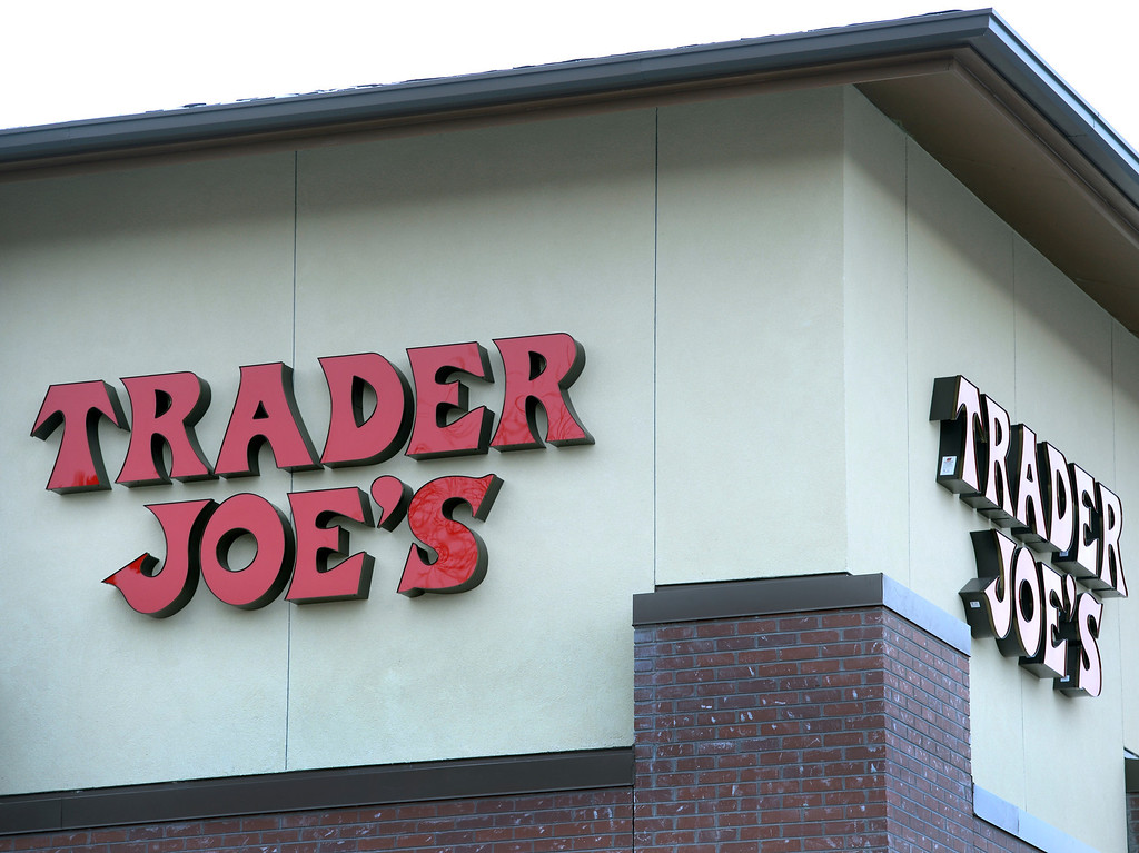 . DENVER, CO - FEBRUARY 11: Trader Joe\'s will open its first three stores Colorado on Friday and construction crews outside as well as employees inside, prepare the Colorado Blvd. and 8th Ave. store in Denver on Tuesday, Feb. 11, 2014. (Photo by Kathryn Scott Osler/The Denver Post)