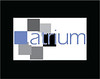 "Logos. I love 'em!!!!! An imaginary magazine cover needed a logo. Since it was called Atrium, I arranged the blocks to resemble rooms around an atrium surrounding the ""a"". The colors were sampled from the cover photograph."