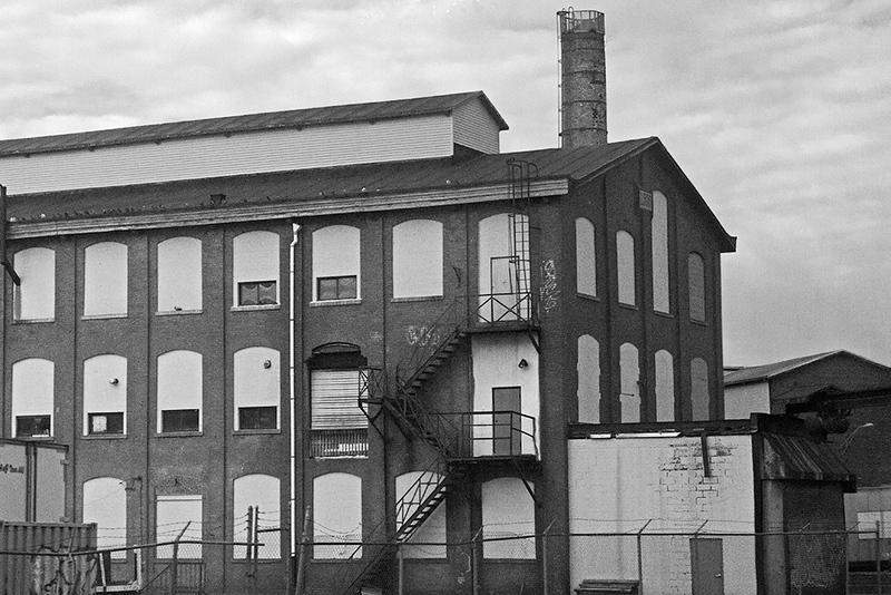 Former mill along Main Line, Passaic<br /> ©2020 Peter Aldrich