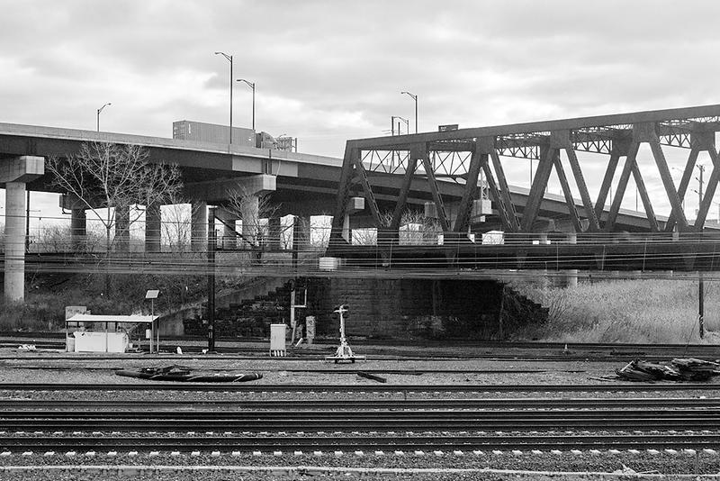 Tracks and McCarter Highway in Newark<br /> ©2019 Peter Aldrich