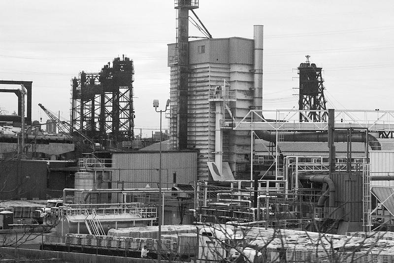 Roofing plant, Kearny, NJ<br /> ©2019 Peter Aldrich