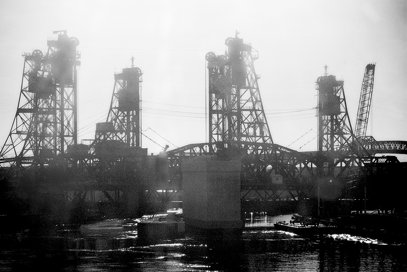 Crossing the Hackensack<br /> ©2016 Peter Aldrich