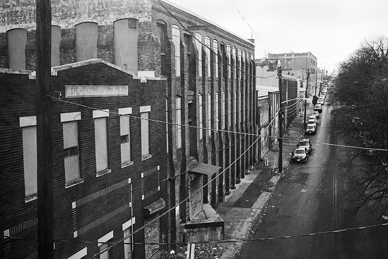 View from Main Line, Paterson, NJ<br /> ©2019 Peter Aldrich