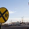 Grade crossing, Lordsburg, NM.