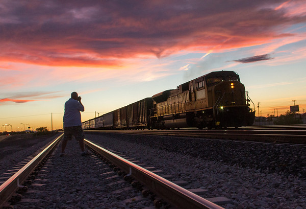 That's my photo buddy Barry Schwartz.  Lordsburg, NM.