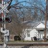 RR crossing at Railroad Street, Gurley, AL