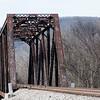 RR bridge over the Paint Rock River