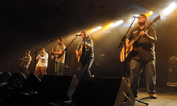 The Duluth-based bluegrass band Trampled By Turtles performs Wednesday at the Verizon Wireless Center. Pat Christman