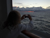our first sunrise at sea