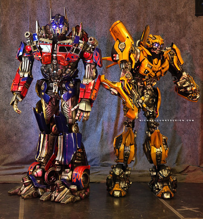 Transformers - Universal Studios Singapore