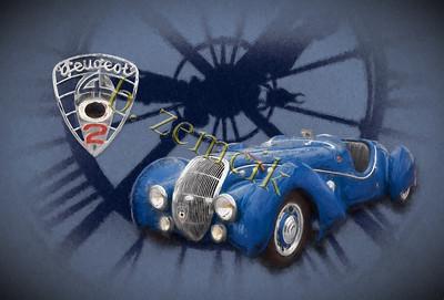 d'orsay clock and Peugeot V2 TStrm II