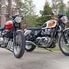 2006 Triumph Bonneville T100 & 2006 Triumph Scrambler