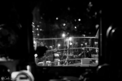 Départ à 4h30 du port du Guilvinec pour une journée sur un chalutier.