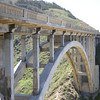 "<a href=""http://en.wikipedia.org/wiki/Bixby_Creek_Bridge"">http://en.wikipedia.org/wiki/Bixby_Creek_Bridge</a><br /> <br /> Bixby Creek Bridge, also known as Bixby Bridge, is a reinforced concrete open-spandrel arch bridge in Big Sur, California. The bridge is located 120 miles (190 km) south of San Francisco and 13 miles (21 km) south of Carmel in Monterey County along California Highway One."