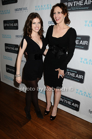Anna Kendrick, Vera Farmiga photo by Rob Rich © 2009 robwayne1@aol.com 516-676-3939