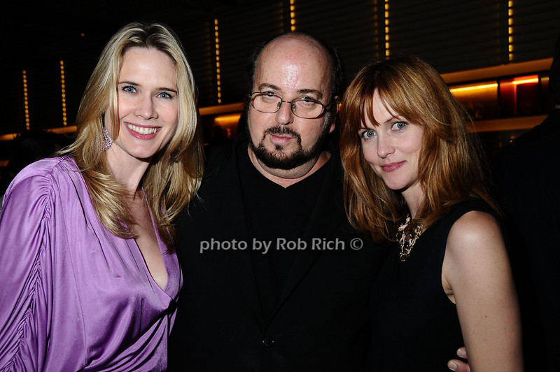 Stephanie March, James Toback, Chris Gzrovic<br /> photo by Rob Rich © 2009 robwayne1@aol.com 516-676-3939