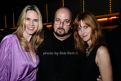 Stephanie March, James Toback, Chris Gzrovic photo by Rob Rich © 2009 robwayne1@aol.com 516-676-3939