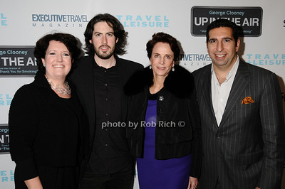 Janet Libert, Jason Reitman, Nancy Novogirod, J.P. Kyrillos photo by Rob Rich © 2009 robwayne1@aol.com 516-676-3939