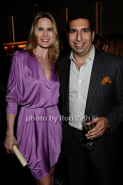 Stephanie March, J. P. Kyrillos<br /> photo by Rob Rich © 2009 robwayne1@aol.com 516-676-3939