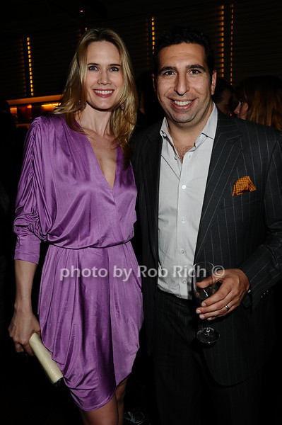 Stephanie March, J. P. Kyrillos<br /> photo by Rob Rich © 2009 robwayne1@aol.com 516-676-3939