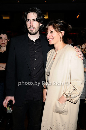 Jason Reitman, Maria Bartiromo photo by Rob Rich © 2009 robwayne1@aol.com 516-676-3939
