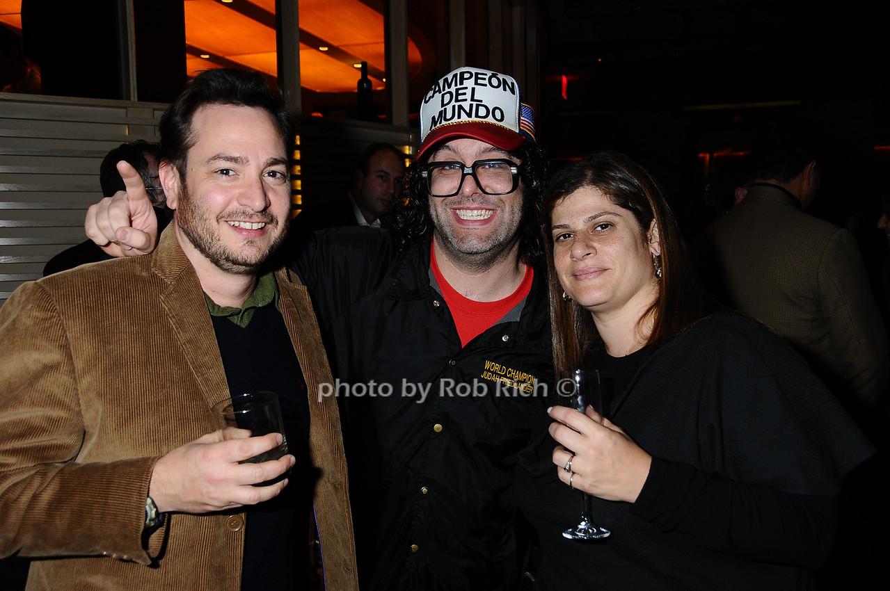 guest, Judah Friedlander, guest photo by Rob Rich © 2009 robwayne1@aol.com 516-676-3939