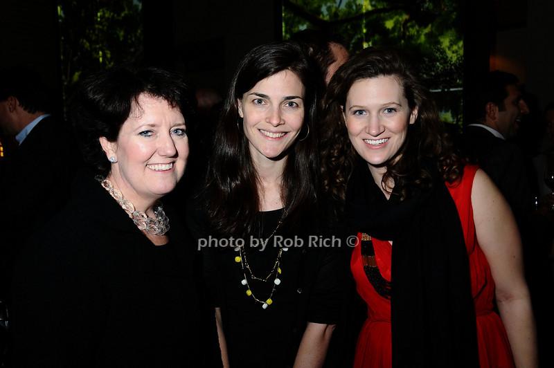 Janet Libert, Liz Marsh, guest<br /> photo by Rob Rich © 2009 robwayne1@aol.com 516-676-3939