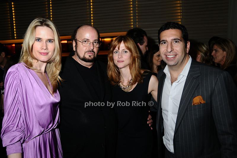 Stephanie March, James Toback, Chris Gzrovic, J.P. Kyrillos<br /> photo by Rob Rich © 2009 robwayne1@aol.com 516-676-3939