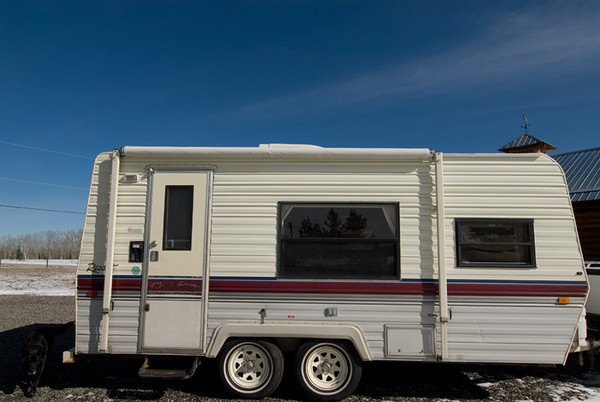 1989 20' (incl. hitch) Terry Resort Travel Trailer<br /> (sold)