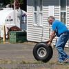 Bob's new unicycle.