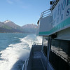 Kenai Fjords Tour - Our boat cruising