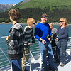 Kenai Fjords Tour - Ryan, Danny, Bill, Kevin and Deb