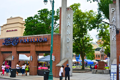 W.C. Handy Park, located on Beale Street and dedicated to W.C. Handy in 1931, has a long tradition of hosting blues acts. Since its creation, Handy Park has been a meeting ground for musicians. Blues artists still play the park for tips.