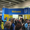 Packet pickup and expo at the Hynes Convention Center, Boston, MA