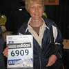 Packet/bib number at the Hynes Convention Center, Boston, MA