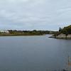 View along Ocean Drive in Newport, RI