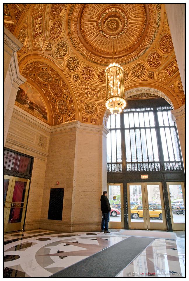 London Guarantee Building Lobby