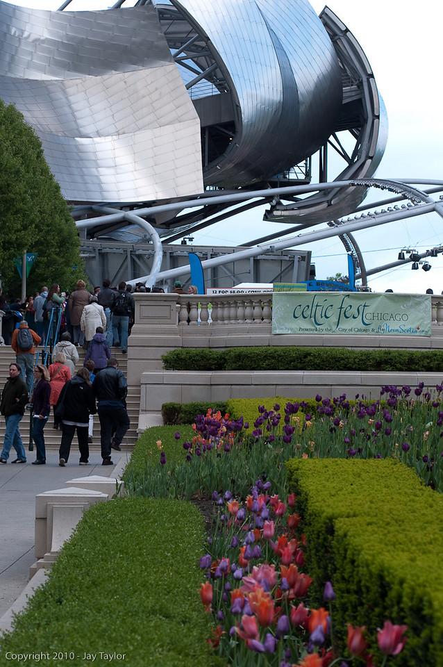 Millenium Park - Frank Gehry's Jay Pritzker Pavillion