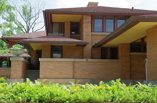 Darwin Martin House - Frank Lloyd Wright architecture