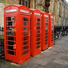 Red Telephone Boxes, Cambridge England