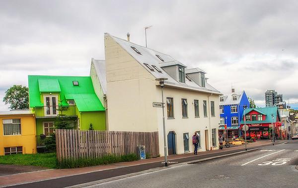 Reykjavik Street Scene #1