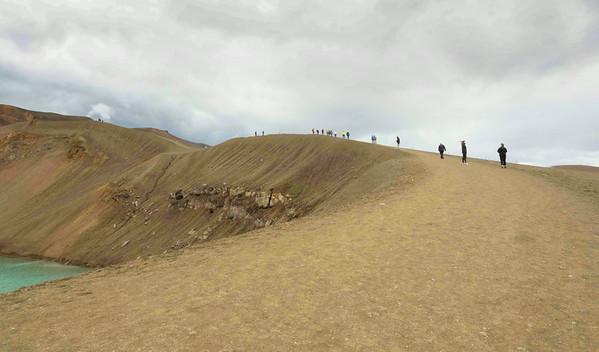 Namaskard Geothermal Area: A walk thru Hell.