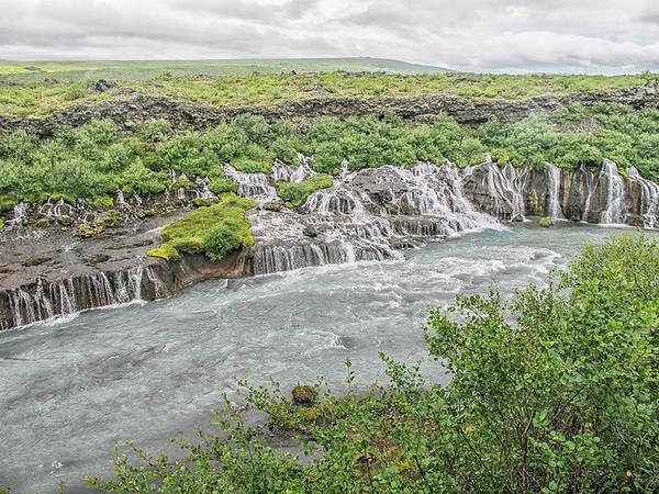 Hraunfossar Waterfalls #2