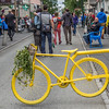 Reykjavik street block bike