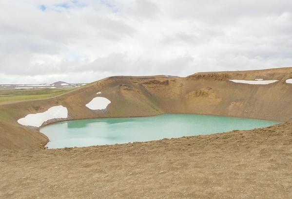 Namaskard Geothermal Area (a former volcano)