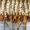 Shark Meat drying