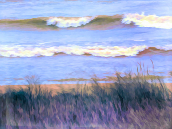 LAKE HURON IMPRESSION NO. 1